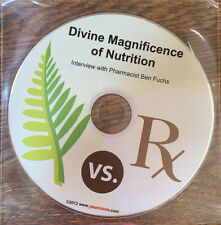 Ben Fuchs Divine Magnificence Nutrition CD NEW Pharmacist Health Interview