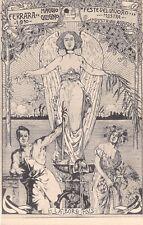 C6037) FERRARA 1910, FESTE DEL LAVORO, MOSTRE INDUSTRIALI AGRICOLE. VG NEL 1910.