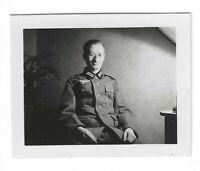 Foto, Soldat in Uniform, Porträt