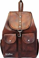 Brisfine Women and Girls Backpack for College Bags (Brown)