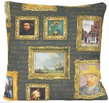 Pictorial Vintage/Retro 100% Cotton Decorative Cushions