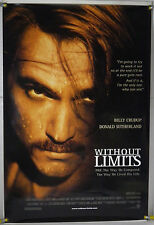 WITHOUT LIMITS DS ROLLED ORIG 1SH MOVIE POSTER BILLY CRUDUP PREFONTAINE (1998)