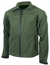 Softshell ODIN JACKET Olive Green - Army AB-TEX Waterproof Soft Shell All Sizes