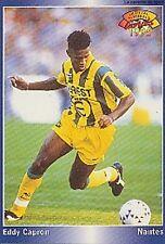 N°140 EDDY CAPRON FC.NANTES CARTE PANINI FOOTBALL 95 FRANCE CARDS 1995