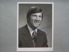 BILL CURRY (GEORGIA  TECH/GEORGIA  STATE) Signed  5 x 7  Glossy  B & W  Photo