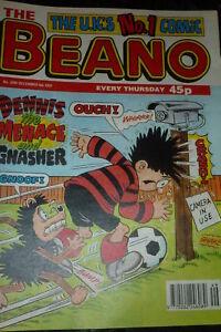 THE BEANO Comic - ISSUE 2890 - Date 06/12/1997 - UK paper comic