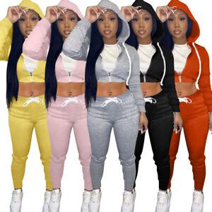 HOT SALE Women Hoodie Long Sleeves Zipper Long Sleeves Bodycon Sport Outfits