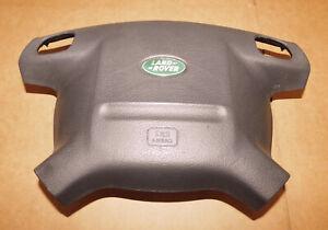 1999-2004 Land Rover Discovery Driver Wheel Air Bag Black Genuine OEM w/Warranty