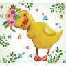 Diamond Painting Kit Dotz 5D 2D Gem DAISY 28 x 30cm Yellow Duckling Easter