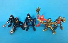 VINTAGE F-P INC KNIGHTS X7 ACTION FIGURES 1990s RARE