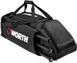 New Worth WOBAG Player Equipment Bag Baseball/Softball Black