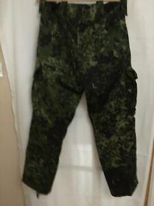 Danish DPM Woodland Camo Trousers Rare