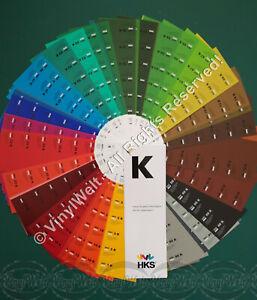 Farbfächer HKS - K