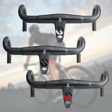 UD Carbon Faser Lenker Rennrad Integrierte Drop Bar Stem Racing Lenker