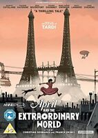 April And The Extraordinary World [DVD] [2016][Region 2]