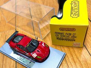 Built 1/43 BBR Gasoline Ferrari F430 GT 12h Sebring 2006 RISI TEAM amr Tameo