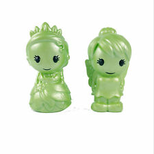 2Pcs Rare Ooshies Disney Pixar Series 1 Tiana & Tinker Bell Figure Toy -  Green