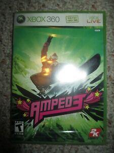 Amped 3 (Microsoft Xbox 360, 2005) NEW Sealed