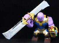 Thanos infinity gauntlet Thanos Double Sword Superheros Custom lego Minifigure