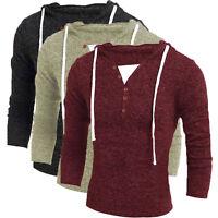 Men's Winter Hoodie Hooded Sweatshirt Cardigan Coat Jacket Outwear Sweater Sale