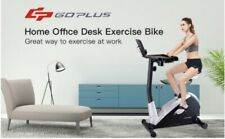 Upright Stationary Magnetic Laptop Tray Excercise Bicycle