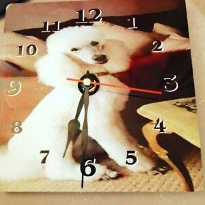 Personalised wall Desk clock,fun,gift,present,photo,image,printing, Aluminum