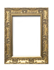 WIDE Ornate Shabby Chic Antique swept Picture frame photo frame GOLD  / MUSE
