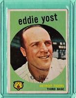 1959 Topps #2 Eddie Yost Detroit Tigers  VgEx