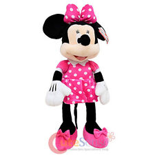Disney Minnie Mouse Plush Doll Backpack Costume Bag Cushion Pillow Pink Jumbo
