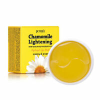 [PETITFEE] Chamomile Lightening Hydrogel Eye Patch - 60 Sheets Korea Cosmetic