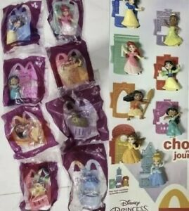 MCDONALD'S 2021 Disney's Princess Set - ON HAND - 🔥NEW 🔥