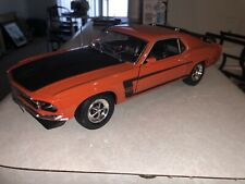 Welly 1/18 1969 Ford Mustang Boss 302 Orange