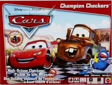Disney Pixar CARS CHAMPION CHECKERS Board Game Factory Sealed made 2006