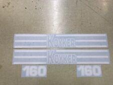 Koyker 160 Loader Decals