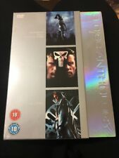 3 Disc Anthology DVD Set Resident Evil, The Punisher And Hellboy. (new)
