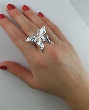 JoliKo Ring Silber pl Schmetterling Hanky Panky Silver Butterfly Elben Fee