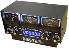 Dosy Tfb-3001-S 3 In-Line Wattmeter w/ Black Meters & Frequency Counter Sale