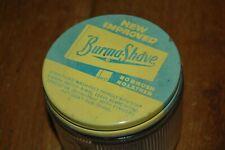 vintage 14 oz Burma-Shave shaving lotion Jar with lid
