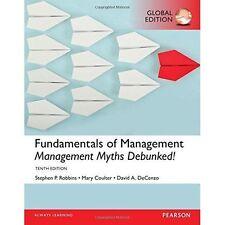 FUNDAMENTALS OF MANAGEMENT ESSENTIAL C, Robbins, Stephen P., De C...