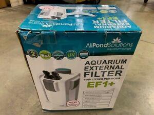 AQUARIUM TANK EXTERNAL FILTER EF1+ 1000L/H 9W