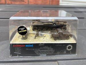 EIDAI Japan Combat Mini American Tank In Its Original Box - Mint Set Rare