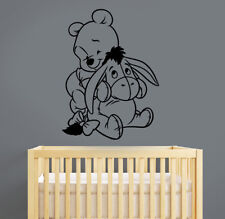 Winnie The Pooh Wall Decal Disney Vinyl Sticker Cartoon Animal Art Room Decor w6