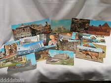 MIXED LOT of 47 VTG Postcards - UN BUILDING EGYPT ENGLAND PUERTO RICO VEGAS