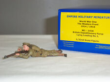 EMPIRE W1-1416 BRITISH EXPEDITIONARY FORCE LYING LOADING METAL TOY SOLDIER