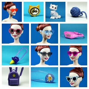 Barbie Fashionistas Set 20 Choose Pick 1 Kitty Cat Sunglasses Purse for 1/6 Doll