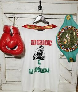 Julio Cesar Chavez T-Shirt, MEXICO XL, Free Shipping