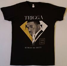 TREY SONGZ Trigga Between The Sheets Tour 2015 Size Medium Black T-Shirt