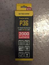 BRAND NEW NITECORE P36 2000 Lumen Flashlight