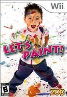 Let's Paint - (Nintendo Wii, 2010) - Brand New, Sealed FAST Shipping