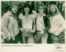 BACHMAN TURNER OVERDRIVE BTO SIGNED AUTOGRAPHED 8X10 RP PROMO PHOTO CLASSIC ROCK